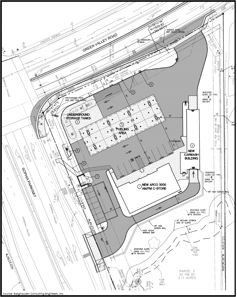 ARCO AMPM Site Map