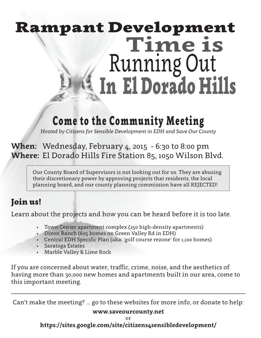 EDH rampant development flyer