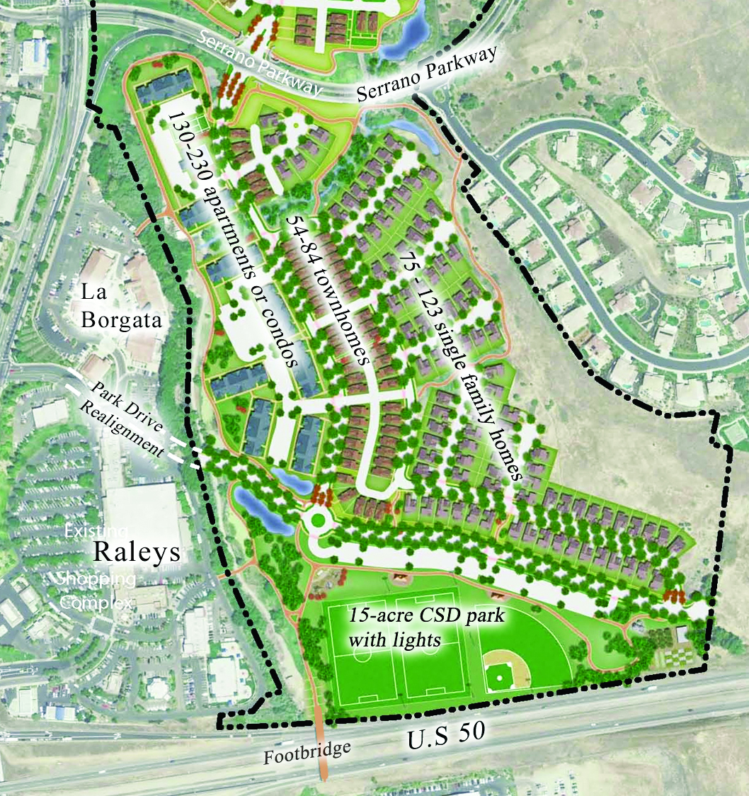 Rezone The Old Golf Course Central El Dorado Hills Specific Plan Save Our County