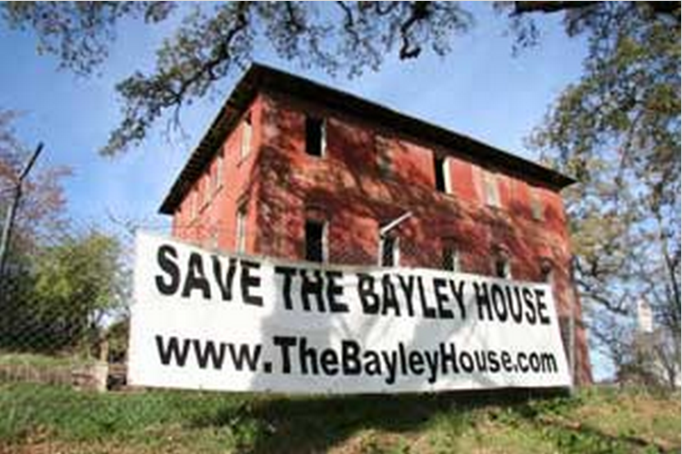 Save the Bayley House