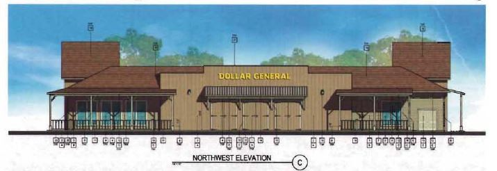 Dollar General Northwest elevation