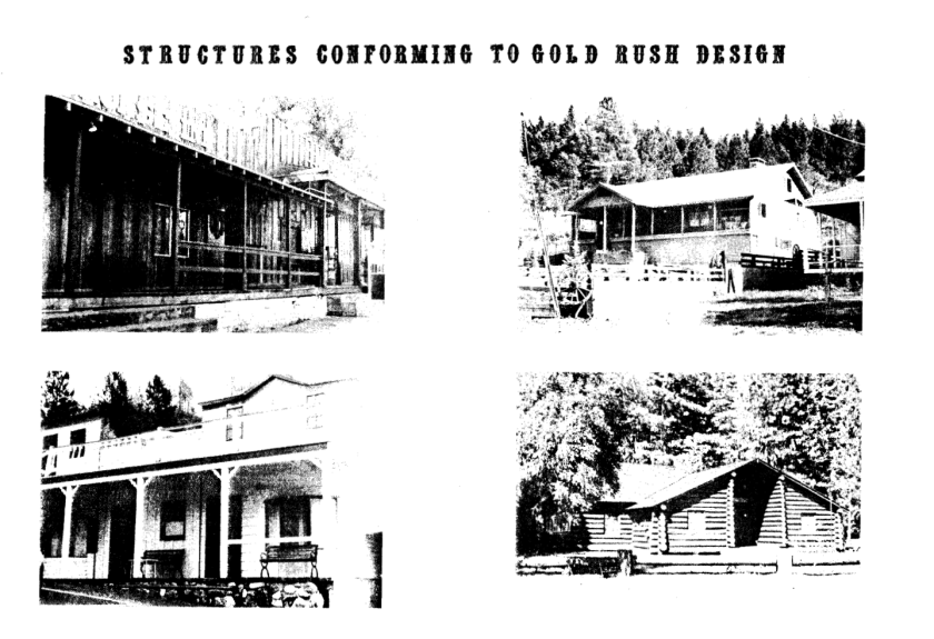 Historic Design Conforming Structures